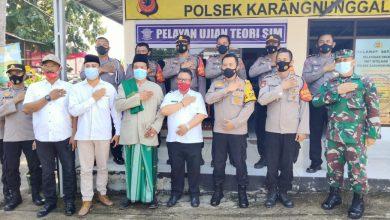 Photo of Kapolres Tasikmalaya AKBP Rimsyahtono, S.I.K, M.M, C.P.H.R, Meresmikan Pelayanan SIM, Di Polsek Karangnunggal